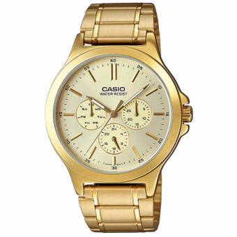 Casio Chronograph Gold Men's Watch MTP-V300G-9A