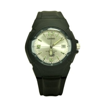 Casio Classic Men's Black Resin Strap Watch MW-600F-7A