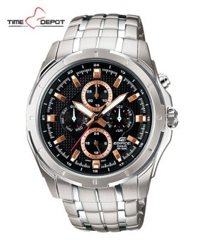 Casio Edifice Men's Silver Stainless Steel Strap Watch EF-328D-1A5