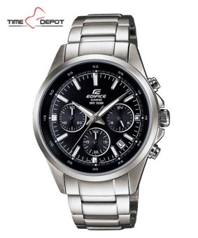 Casio Edifice Men's Silver Stainless Steel Strap Watch EFR-527D-1A