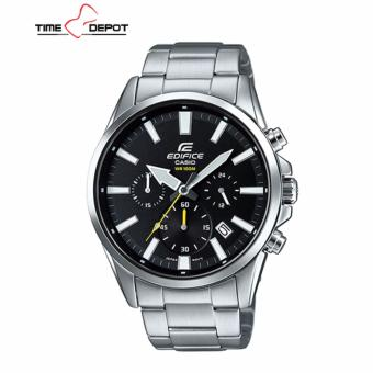 Casio Edifice Men's Silver Stainless Steel Strap Watch EFV-510D-1A