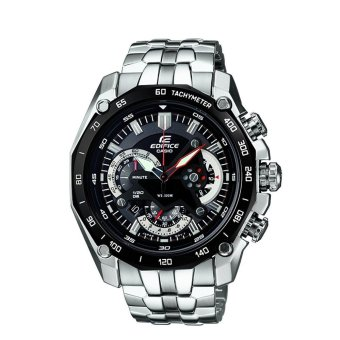 CASIO Edifice Men's Watches Analog Silver Metal Band Business StyleEF-550D-1A - intl Price Philippines