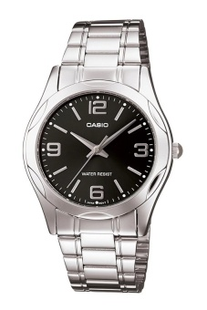 Casio Enticer Men's Silver Stainless Steel Strap Watch MTP-1275D-1A2DF