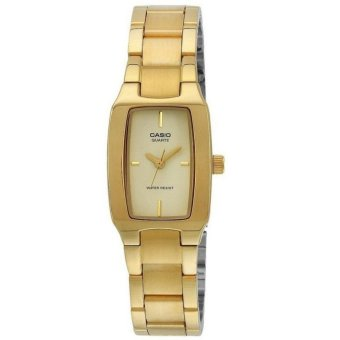 Casio Enticer Women's Gold Stainless Steel Analog Ladies Watch LTP-1165N-9CRDF