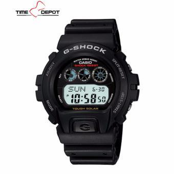 Casio G-Shock Digital Tough Solar Men's Black Resin Strap Watch G-6900-1D
