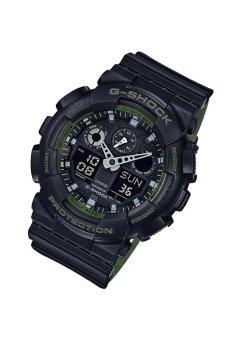 Casio G-Shock GA-100L-1A Black - intl - 2