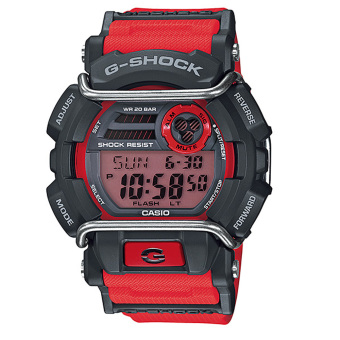Casio G-Shock GD-400-4DR Men's Grey Dial Red Resin Strap Watch Price Philippines