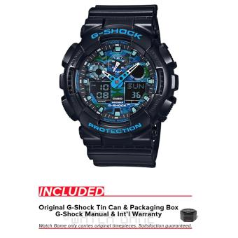Casio G-Shock Graphic Dial Series GA100CB-1A Price Philippines