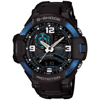 Casio G-Shock Men's Black Resin Strap Watch GA-1000-2B