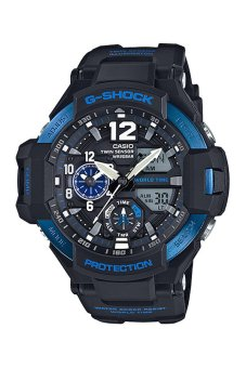 Casio G-Shock Men's Black Resin Strap Watch GA-1100-2B