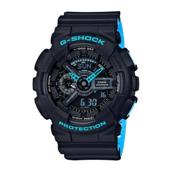 Casio G-Shock Men's Black Resin Strap Watch GA-110LN-1A - intl