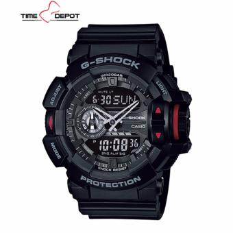 Casio G-Shock Men's Black Resin Strap Watch GA-400-1B