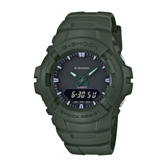 Casio G-Shock Men's Green Resin Strap Watch G-100CU-3A - intl