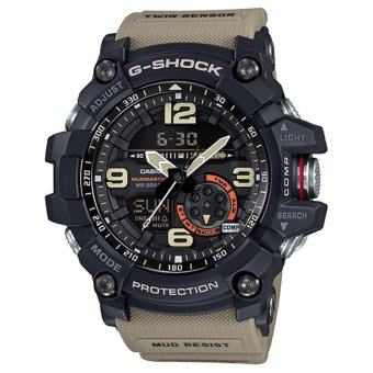 Casio G-Shock Men's Black and Brown Resin Strap Watch GG-1000-1A5 Price Philippines