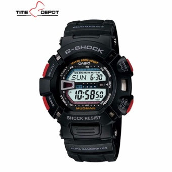 Casio G-Shock Mud Resist Men's Black Resin Strap Watch G-9000-1V