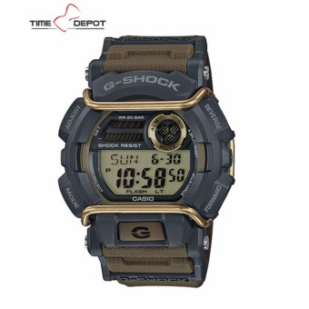 Casio G-Shock Super illuminator with protector Men's Brown Resin Strap Watch GD-400-9DR Price Philippines