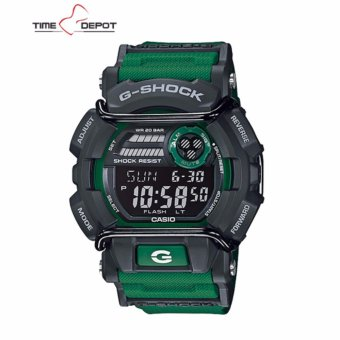 Casio G-Shock Super illuminator with protector Men's Green Resin Strap Watch GD-400-3DR Price Philippines