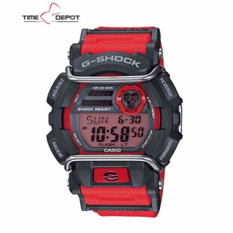 Casio G-Shock Super illuminator with protector Men's Red Resin Strap Watch GD-400-4DR Price Philippines