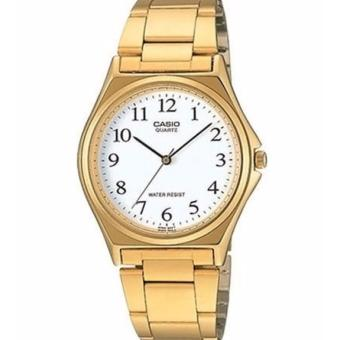 Casio Gold Plated Stainless Steel Watch for Men MTP-1130N-7BRDF
