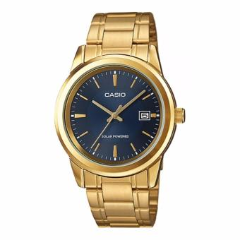Casio Gold Plated Stainless Steel Watch for Men MTP-VS01G-2ADF