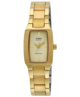 Casio Gold Stainless Steel Strap Women's Watch LTP-1165N-9CRDF