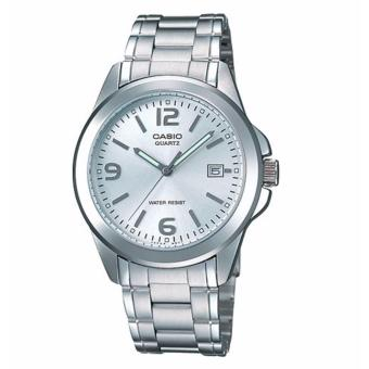 Casio LTP-1215A-7ADF Women's Watch Silver Strap