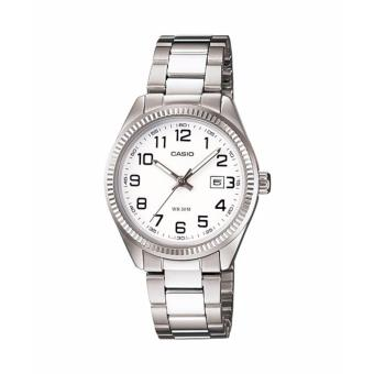 Casio LTP-1302D-7B Silver Stainless Watch for Women