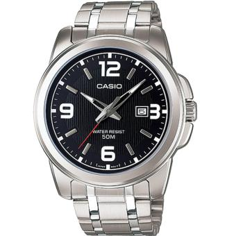Casio Men's Analog Stainless Steel Watch MTP-1314D-1A