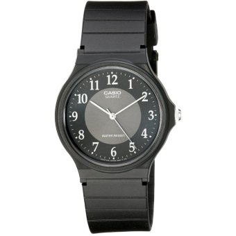 Casio Men's Black Rubber Strap Watch MQ-24-1B3LDF