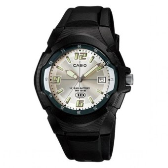 Casio Men's Black Rubber Strap Watch MW-600F-7AVDF