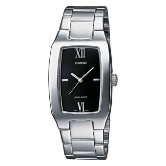 Casio Men's Silver Stainless Steel Strap Watch MTP-1165A-1C2DF