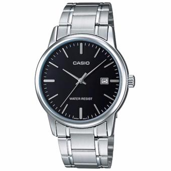 Casio Men's Stainless Steel Strap Business Watch MTP-V002D-1A