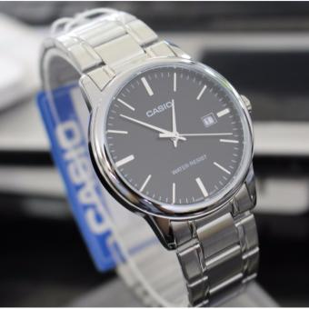 Casio Men's Stainless Steel Strap Business Watch MTP-V002D-1A - 2