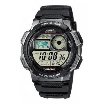 CASIO Men's Black Resin Strap Watch AE-1000W-1BVDF