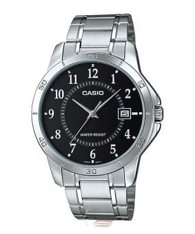 Casio Men's Silver Stainless Steel Strap Watch MTP-V004D-1