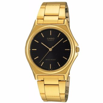Casio Unisex (Men's Size) Gold Toned Stainless Steel Strap Watch MTP-1130N-1ARDF