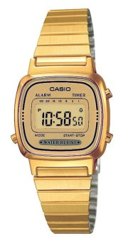 Casio Vintage Gold Stainless Steel Women's Watch LA670WGA-9DF