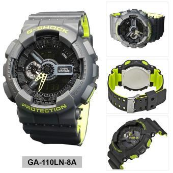 Casio Watch G-SHOCK Grey Resin Case Resin Strap Mens NWT + Warranty GA-