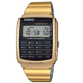 Casio Women's Gold Stainless Steel Band Watch CA-506G-9A