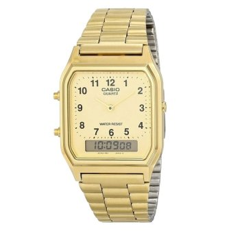 Casio Women's Gold Stainless Steel Strap Watch AQ-230GA-9BMQ Price Philippines