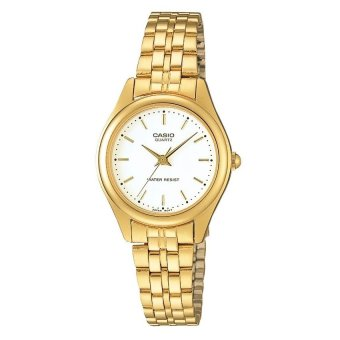 Casio Women's Gold Stainless Steel Strap Watch LTP-1129N-7ARDF