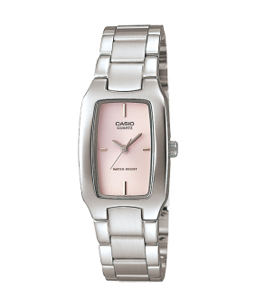 Casio Women's Silver Stainless Steel Band Watch LTP-1165A-4CDF