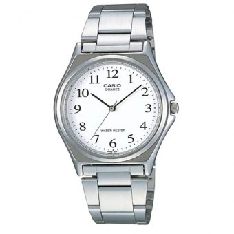 Casio Women's Silver Stainless Steel Strap Watch LTP-1130A-7BRDF