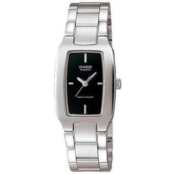 Casio Women's Silver Stainless Steel Strap Watch LTP-1165A-1CDF