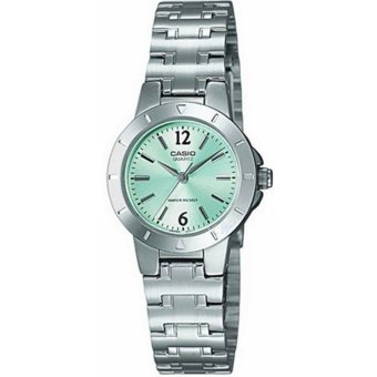 Casio Women's Silver Stainless Steel Strap Watch LTP-1177A-3ADF