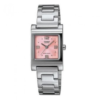 Casio Women's Silver Stainless Steel Strap Watch LTP-1237D-4ADF