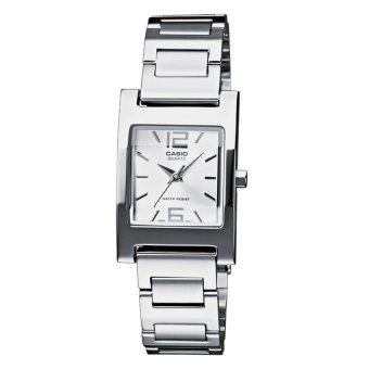 Casio Women's Silver Stainlesss Steel Strap Watch LTP-1283D-7ADF