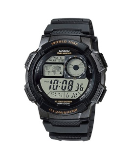 Casio Youth Men's Black Resin Strap Watch AE-1000W-1A with 1 Year Warranty (T1Y)