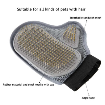 Cat comb line cat and cat gloves cat hair comb pet hair removal to float hair artifact cat supplies dog comb brush brush massage - intl