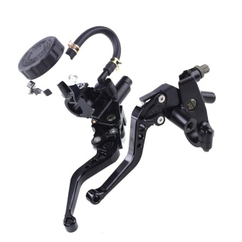 Cattree 1Pair 22mm 7/8'' inch Front Handlebar Brake Clutch Master Lever Motorcycle - intl